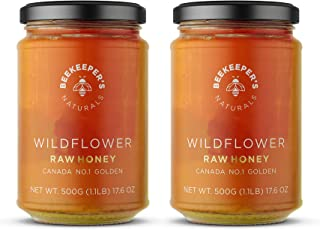 Sponsored Ad - BEEKEEPER'S NATURALS Wildflower Honey - Raw, Wildcrafted and Unprocessed- Rich in Nutrients and Beneficial ...