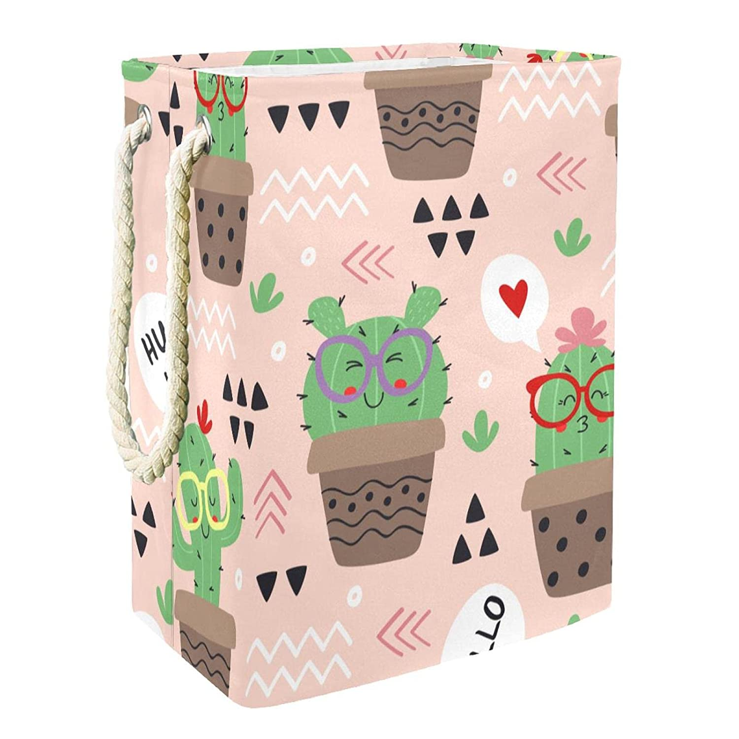 Factory outlet Kids Storage Basket Cute Cactus Bin Co and Toy Opening large release sale Accessory