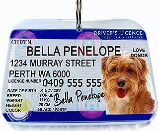 Australia Driver License Western Australia Personalized Pet ID Tags