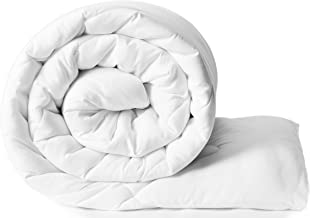 Amazon Brand - Solimo Microfibre Double Comforter - White