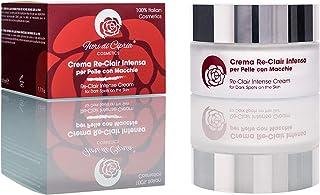 Crema Despigmentante Antimanchas Facial - Blanqueadora Eficaz en Manchas Oscuras por Sobreproducción de Melanina. Con Prot...