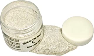 Slice of the Moon: Shimmer Pearl Mica Powder 1oz, Cosmetic Mica, Soap Making, Candle Making,Resin Dye, Lip Balm, Eye Liner Mica