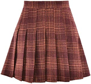 Tartan and Lace fully lined girls skirt