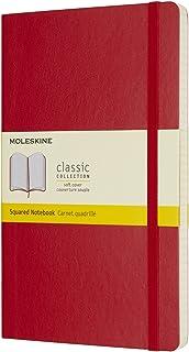 Caderno, Moleskine, 8055002854641, Vermelho, Grande
