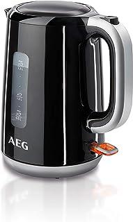 comprar comparacion AEG EWA3300 Hervidor Serie 3, Temperatura hasta 100ºC, Capacidad de 1.7L, Función Apagado Automático, Filtro Antical Extra...