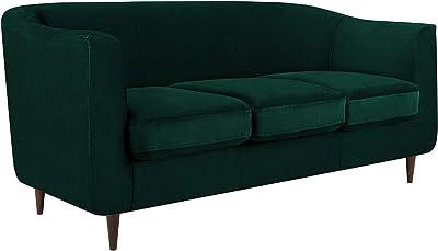 möbelando Sofa Stoffcouch Couch Dreisitzer Küchensofa