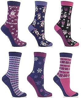 Chaussettes Femme multicolore cr/ème Festive Feet