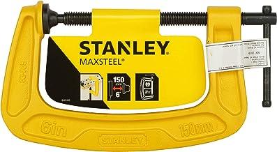 Stanley MaxSteel C-klem (150 mm spanbreedte, 89 mm uitlading, 680 kg spankracht, bestand tegen corrosie) 0-83-035