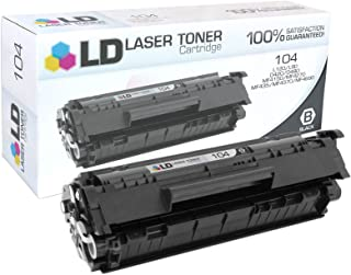 LD Compatible Toner Cartridge Replacement for Canon 104 (Black)