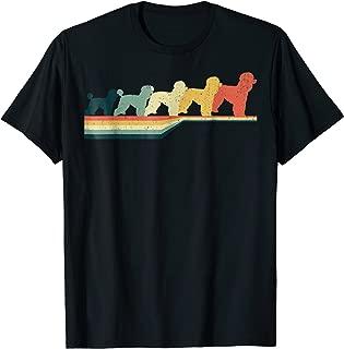 STANDARD POODLE T-shirt, Vintage Retro Style T-shirt