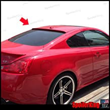 Spoiler King Roof Spoiler (284R) compatible with Infiniti G37 2dr 2007-2014