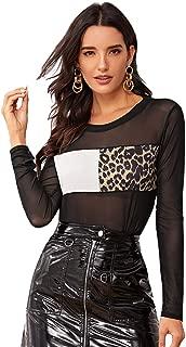 Best sheer leopard shirt Reviews