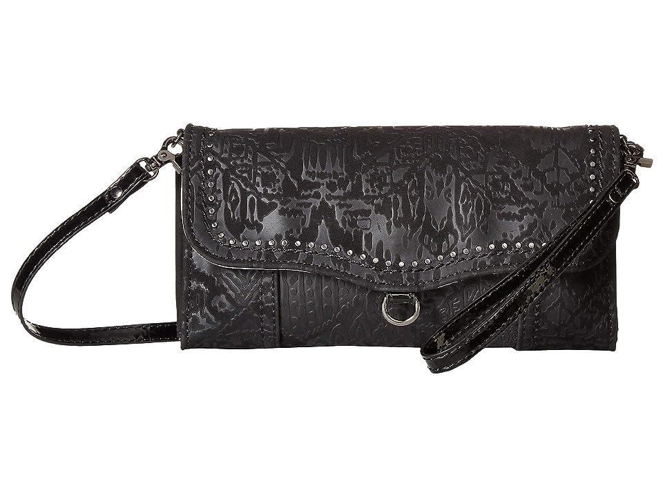 2f22702635 Sakroots Arcadia Edie Crossbody Wallet (Black) Wallet Handbags