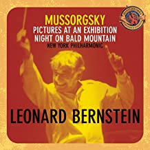 Mussorgsky: Pictures at an Exhibition / Night on Bald Mountain ~ Bernstein