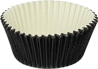 Jubilee Sweet Arts 50 Count Baking Cups, Standard, Black Foil