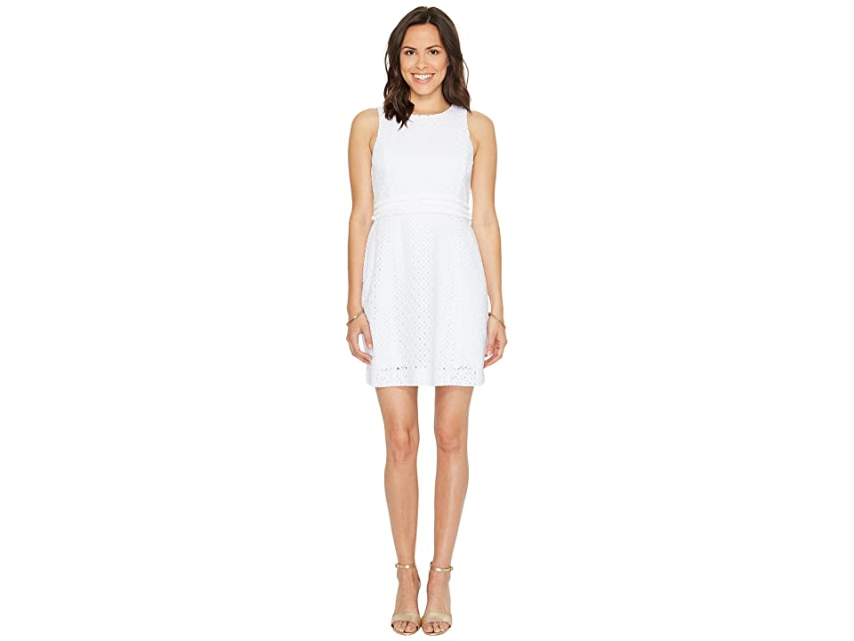Lilly Pulitzer Arden Shift (Resort White Lattice All Over Knit Lace) Women