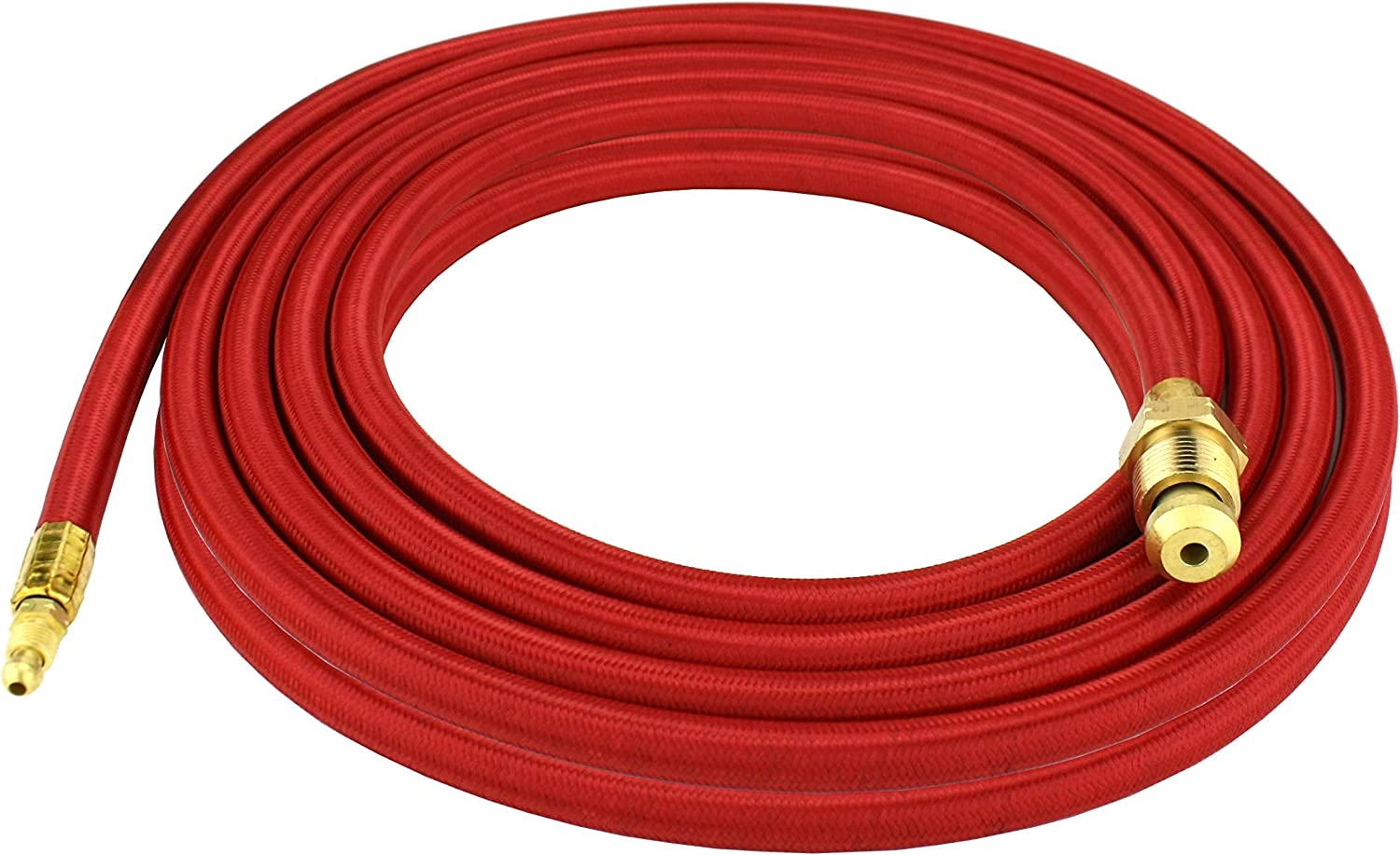 TIG Torch Power Cable Ultra-flexible Wire Gold+Red Metalworking Practical