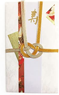 MIYABI, Japanese Traditional Gorgeous Envelope. for Celebration and Greeting. (Red)