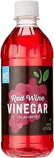 Amazon Brand - Happy Belly Red Wine Vinegar, Kosher, 16 Fluid Ounces