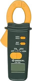 Greenlee CM-330 Clampmeter, 400-Amp AC