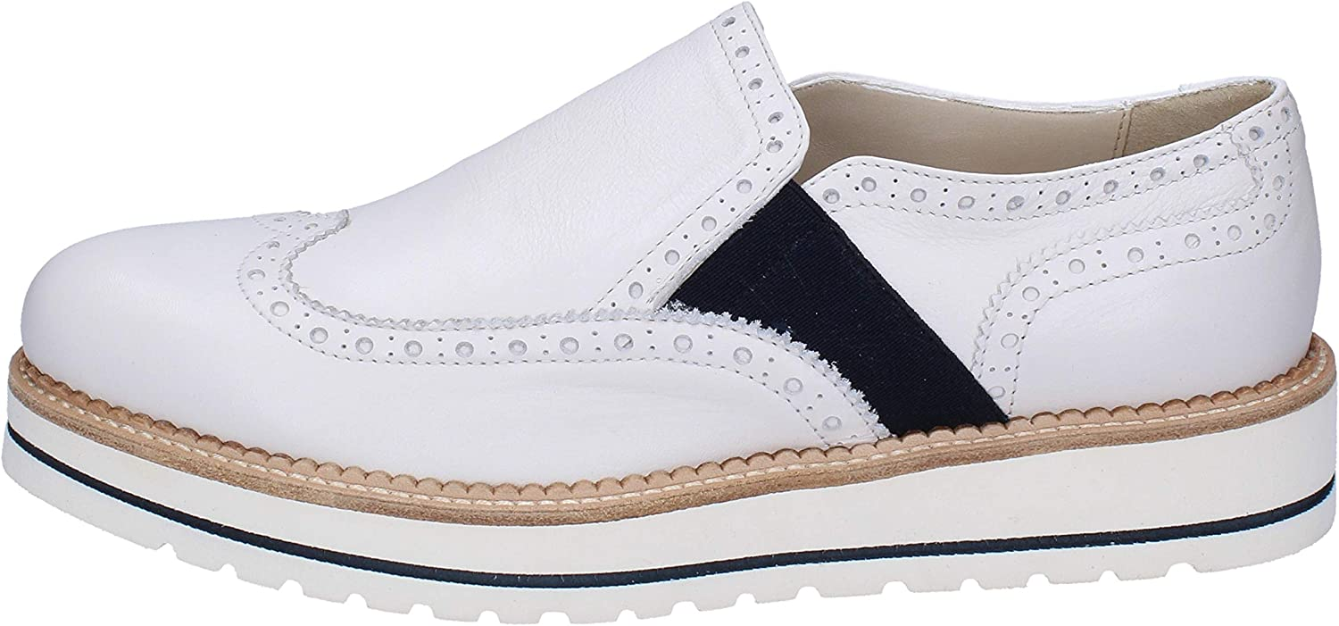 ROSSANO BISCONTI Loafers-shoes Womens Leather White