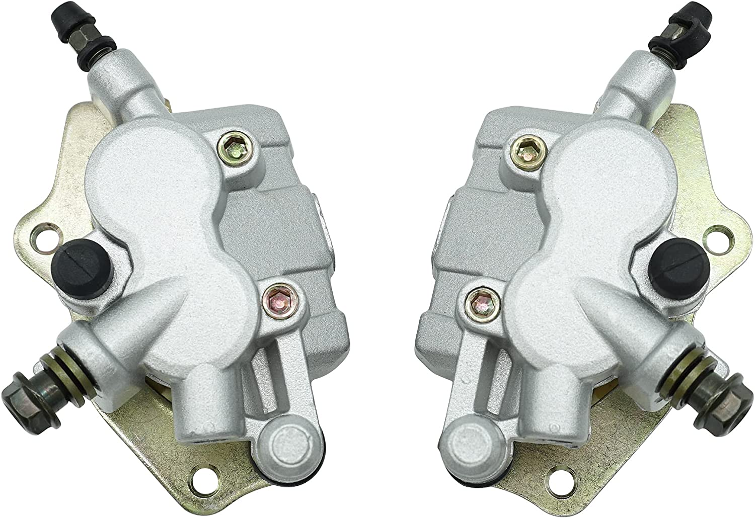 safety M MATI Front Left Right Brake Calipers Teryx Pads for Kawasaki Ranking TOP11