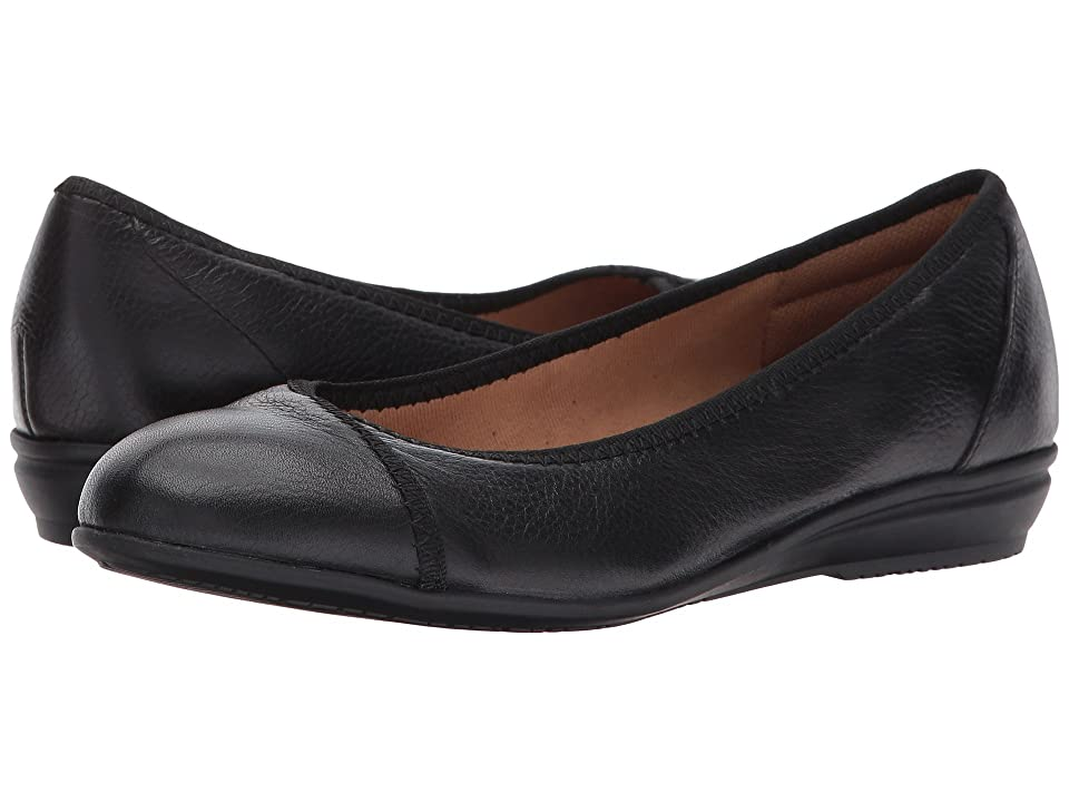Comfortiva Eaton (Black Cow Metallic) Women