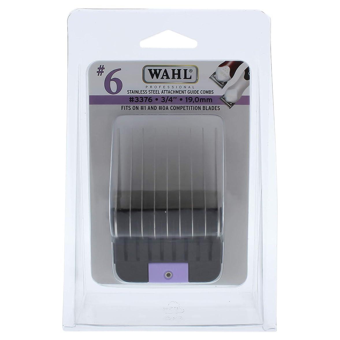 屋内抽象化先のことを考えるStainless Steel Attachment Comb - # 6 For Cuts 3/4 Black