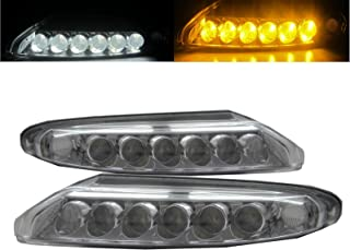 CABI 997 CARRERA 911 2005 2008 First generation PRE-FACELIFT Convertible Coupe 2D LED DRL Daytime Running Fog Light Lamp for PORSCHE
