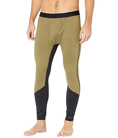 Burton Midweight X Base Layer Pants (Martini Olive/True Black) Men