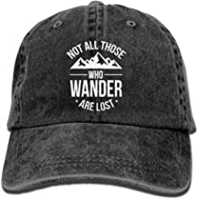 LPENAW Classic Jeans CapsNot All Those Who Wander Are Lost Jeans Hats Adjustable Hats For Mens And Womens