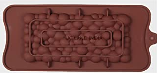 UG LAND INDIA Bubble Chocolate BAR Mold, Baking Mold, Baker Supplies, Cake Decoration, Candy Mold