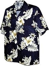 Pacific Legend Plumeria Hibiscus-Hawaiian Shirts