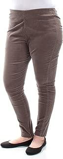 Ralph Lauren Womens Stretch Casual Corduroy Pants, Brown, 12 Regular