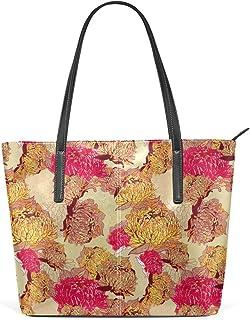 FANTAZIO Handtasche Schultertasche mit Blumenmuster