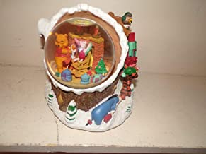 Pooh Disney Winnie The Musical Snow Globe I Will Be Home for Christmas