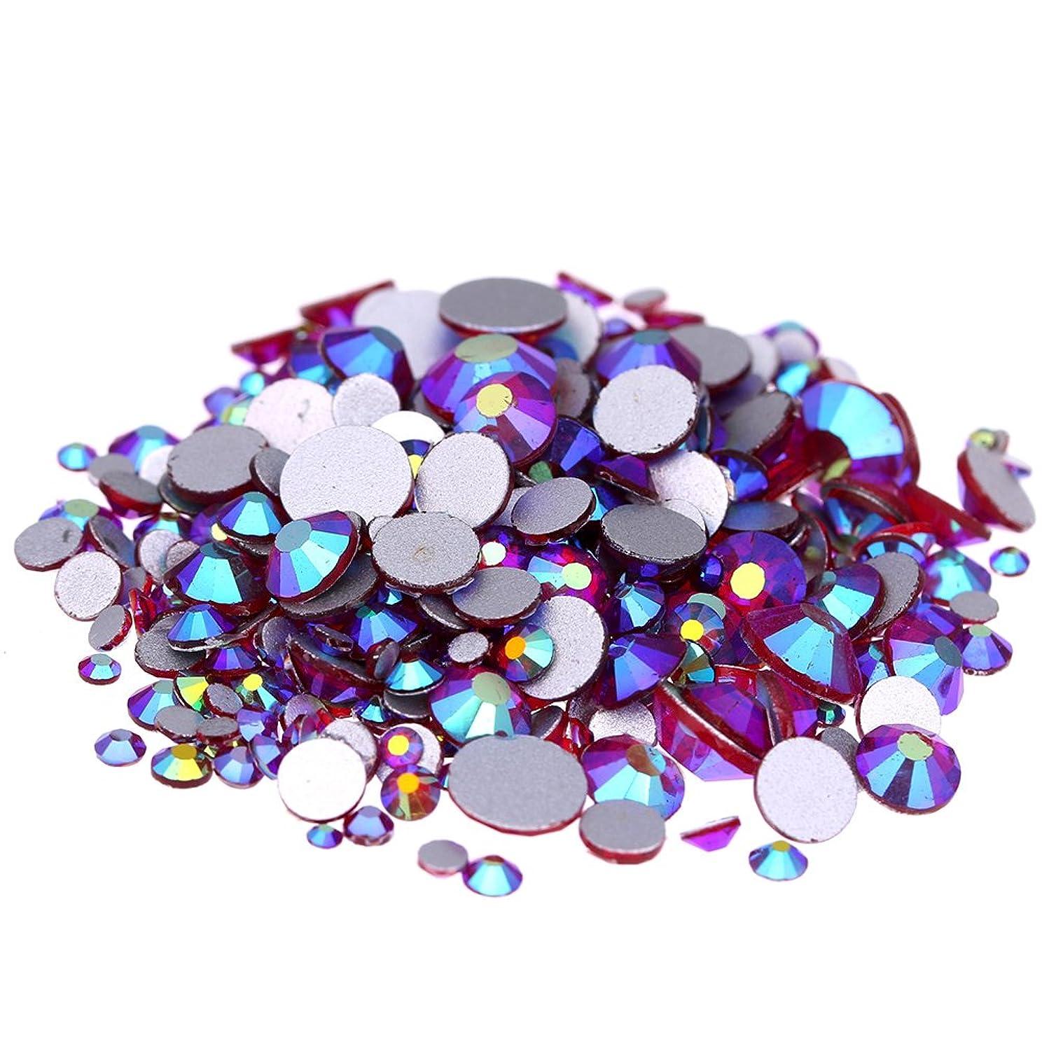 偶然間に合わせ二週間Nizi ジュエリー ブランド シャムオーロラ ラインストーン は ガラスの材質 ネイル使用 型番ss3-ss30 (SS20 1440pcs)