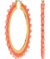 Kate Spade New York - Wrap It Up Hoops Earrings