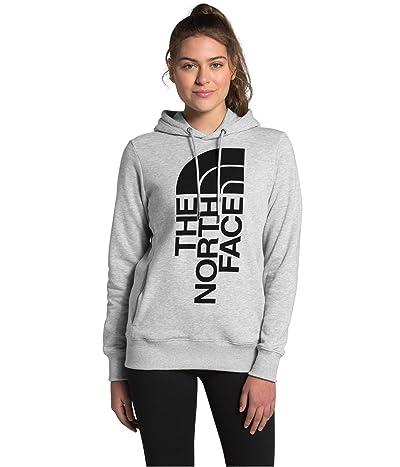 The North Face Trivert Pullover Hoodie (TNF Light Grey Heather/TNF Black) Women
