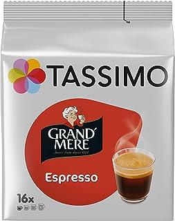 Tassimo Café Dosettes - 80 boissons Grand Mère Espresso (lot de 5 x 16 boissons)