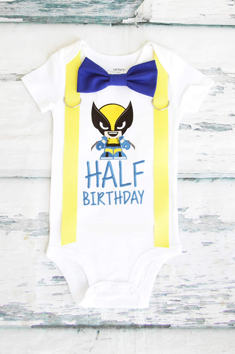 Boy Max Ranking TOP12 45% OFF 6 Months birthday Outfit half a Out wolverine Logan