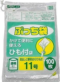 オルディ ぷっち袋ひも付 11号 0.02mm 透明100P