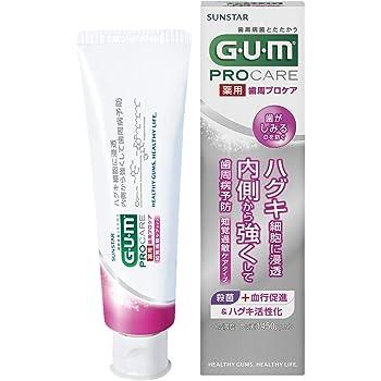 [医薬部外品] GUM(ガム) 歯周プロケア デンタルペースト 知覚過敏ケアタイプ <歯周病予防 歯みがき ハグキケア 高濃度フッ素配合1450ppm> 85g