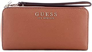 Luxury Fashion | Guess Womens SWEV7180460COGNAC Brown Wallet | Fall Winter 19