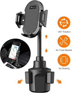 PaiTree Car Cup Holder Phone Mount, Ultra Stable Neck Cell Phone Holder for Car, Cradle Long Adjustable Car Mount for iPhone Compatible with iPhone 11 Pro Max/11 Pro/11/XS/XR/X/8/7 Plus Samsung S10+