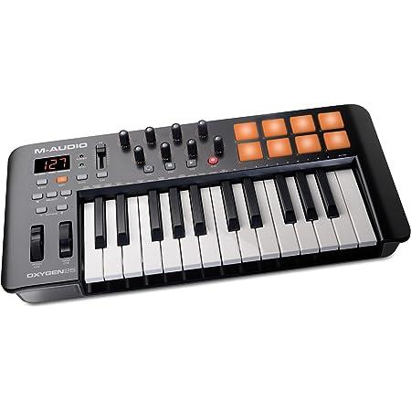 Alesis V25 - Teclado controlador USB-MIDI portátil de 25 ...