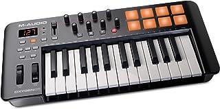 M-Audio Oxygen 25 MK IV کنترلر USB Pad / Keyboard MIDI ، بارگیری نرم افزار VIP شامل