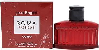 Roma Passione by Laura Biagiotti Eau De Toilette Spray 4.2 oz / 125 ml (Men)
