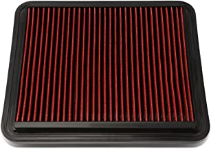 DNA MOTORING AFPN-013-RD Replacement Drop in Air Filter, Red