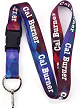 Buttonsmith Diamonds Custom Lanyard - Customize with Your Text - Buckle and Flat Ring - Made in The USA